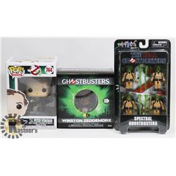 LOT OF ASSORTED GHOSTBUSTERS FIGURES