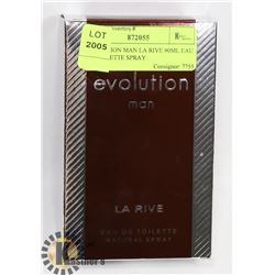 EVOLUTION MAN LA RIVE 90ML EAU DE TOILETTE SPRAY