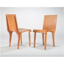 Josef van der Kar-Custom 6 dining chairs
