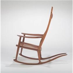 Sam Maloof-Walnut with Ebony Rocking chair