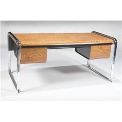 Peter Protzman-Babinga wood desk