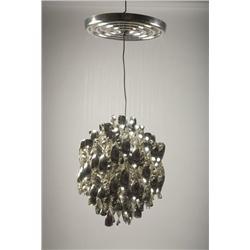 Verner Panton-SP1 spiral hanging lamp