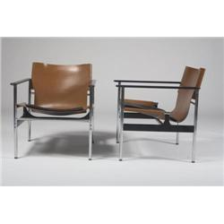 Charles Pollock-Lounge chairs, 2