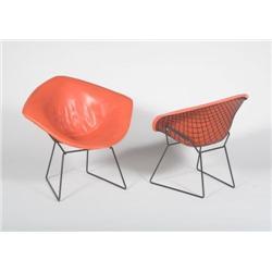 Harry Bertoia-Diamond chairs, 2