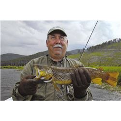 Iron Wheel Guest Ranch - Montana fishing trip