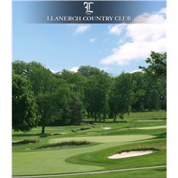 Llanerch Country Club round of golf for 3 golfers