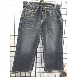 New Wranglers Boy Jeans relaxed 8 Husky