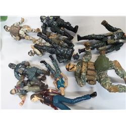 Lot of GI Joe Military action figures