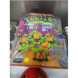 Vintage Teenage Mutant Ninja Turtles Collectors Case
