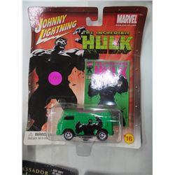 Johnny Lightening Incredible Hulk Dicast Van