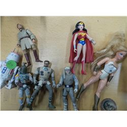 Vintage She-Ra  Lot of Star Wars and hero action figures