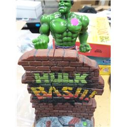 Incredible Hulk  Bash Wall Action Figure