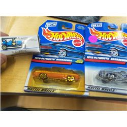 Lot of 2 hot wheels cars and a Buick Model car