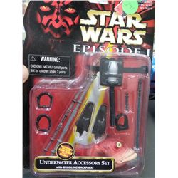 New Star Wars Episode 1 Underwater Accessory Kit