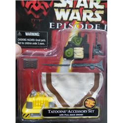 New Star Wars Episode 1 Tatoonine Accessory Kit
