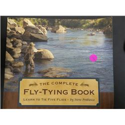 Fly fishing tying book
