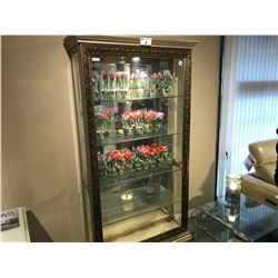 5 SHELF 6.5' LIGHTED COLLECTORS' CABINET, RP: $5,999