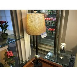 2  TABLE LAMPS ONE MODERN AND ONE TRADITIONAL STYLE