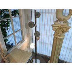 5' STAINLESS STEEL FLOOR LAMP