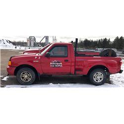 2002 FORD RANGER V6 PICKUP TRUCK