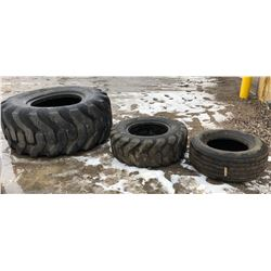 JOB LOT OF USED TIRES