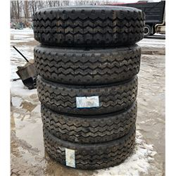 JOB LOT OF RECAP TIRES