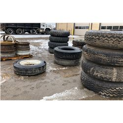 JOB LOT OF TIRES