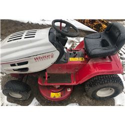 WHITE 1-155G LAWN TRACTOR