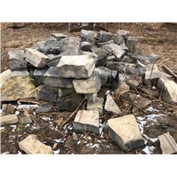 QTY OF LANDSCAPING STONE