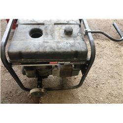 COLEMAN POWERMATE GAS GENERATOR. 5500/6875 W