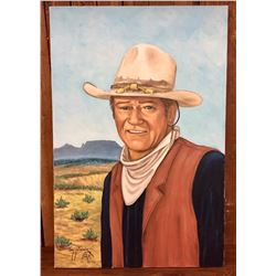 Original Painting of John Wayne by Yellowhair