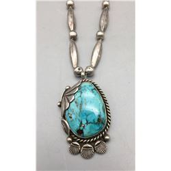 Vintage Turquoise Necklace by Fred Thompson