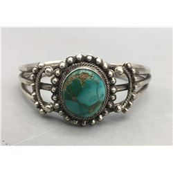 Older Turquoise and Sterling Silver Bracelet