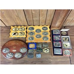 Large Belt Buckle Collection