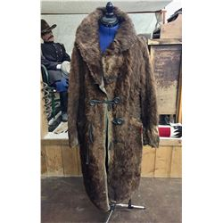 Early 1900s Buffalo Coat