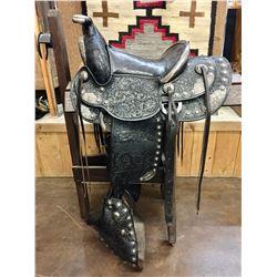Bohlin Trophy Saddle with Visalia Silver
