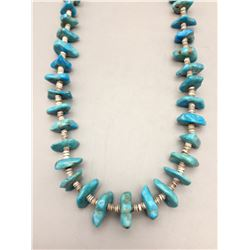 Vintage Turquoise and Shell Necklace
