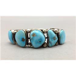 Five Turquoise Stone Bracelet