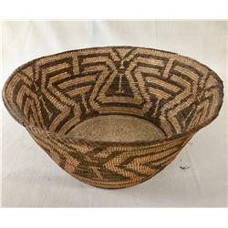 Unique Butterfly Pattern Pima Basket