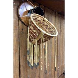 Vintage Apache Burden Basket