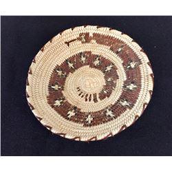 Very Fine Miniature Polychrome Basket
