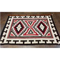 Large Vintage Navajo Textile on Hanger