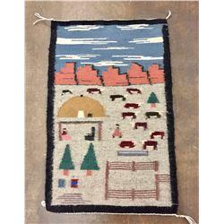 Navajo Pictorial Textile