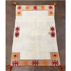 Double Navajo Saddle Blanket with Tassels