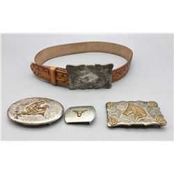 Vintage Belt Buckle Collection