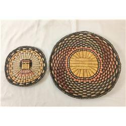 Two Hopi Wicker Baskets