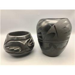 Two Santa Clara Pots