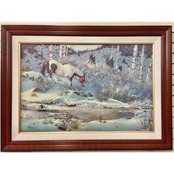 Large William Hoffman Canvas Print