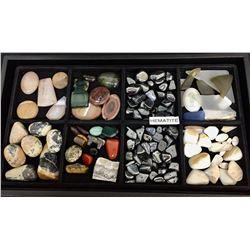 Tray of Miscellaneous Semi Precious Stones