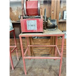 Large Sears Lapidary Tumbler with Stand